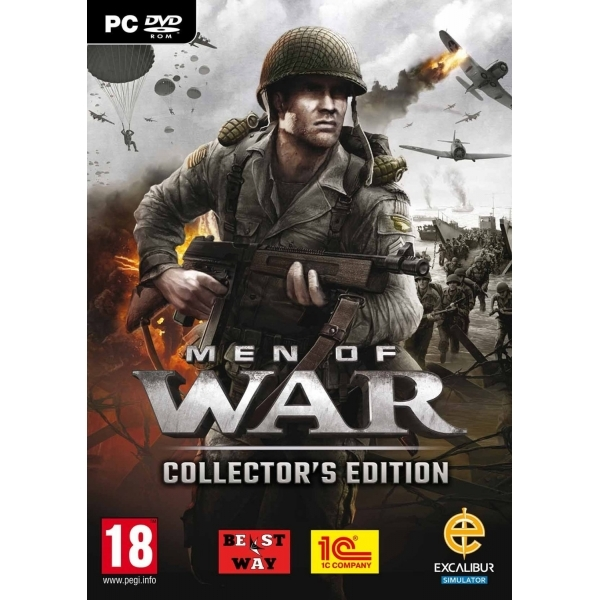 Men of War Collector's Pack Game PC