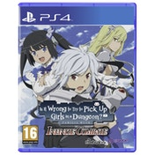 Is It Wrong to Try to Pick Up Girls in a Dungeon Infinite Combate PS4 Game