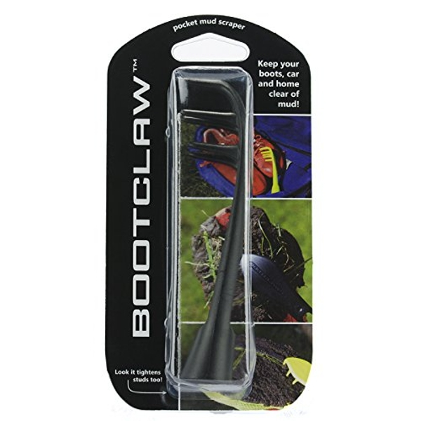 Bootclaw Football Boot Mud Scraper with built in Stud Key  Black