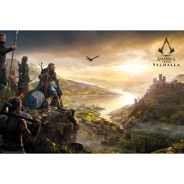 Assassins Creed Valhalla Vista maxi Poster