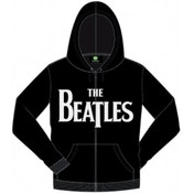 The Beatles Drop T Hooded Top_Black: X Large