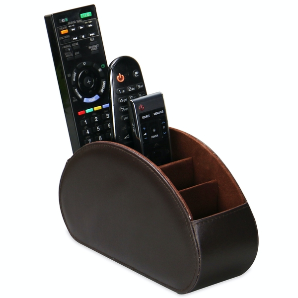 Remote Control Holder | M&W Brown - Image 1