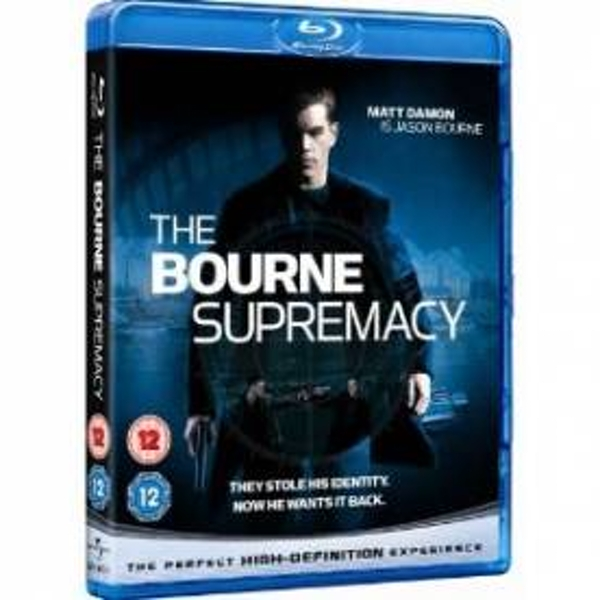 The Bourne Supremacy Blu-Ray