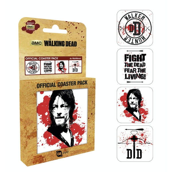 The Walking Dead Daryl Coaster Pack