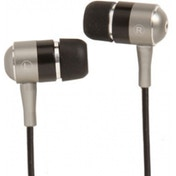 Groov-e Metal Buds Stereo Earphones Silver and Black
