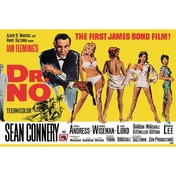 James Bond Dr No Maxi Poster