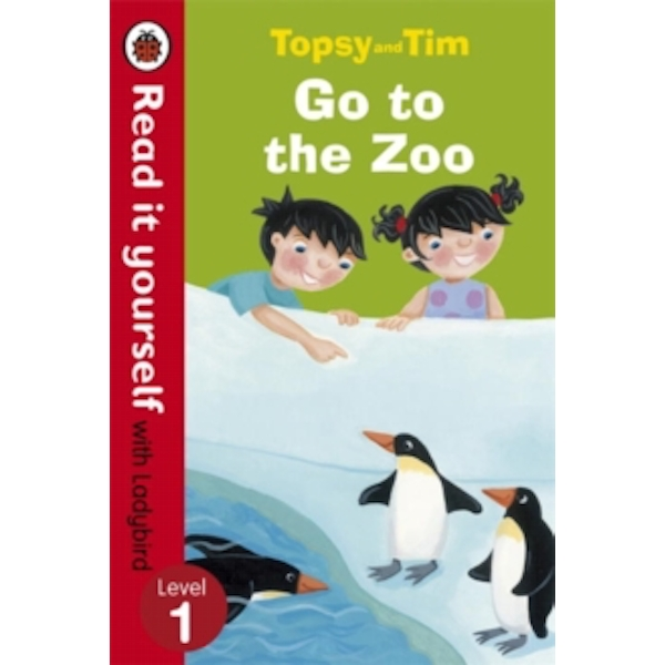 Topsy and Tim: Go to the Zoo - Read it yourself with Ladybird: Level 1 by Jean Adamson (Paperback, 2013)