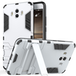 Huawei Mate 10 Armour Combo Stand Case - Steel Silver - Image 2