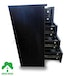 4 Chest Of Drawers Black Bedside Cabinet Dressing Table Bedroom Furniture Wooden Green House - Image 3