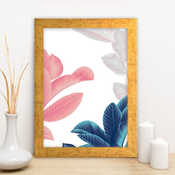 AC7216051842 Multicolor Decorative Framed MDF Painting