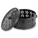 Metal Incense Holder | Insect Repellent | Home Fragrance | M&W Black - Image 3