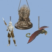 Game of Thrones 4 1/4-Inch Figural Ornaments
