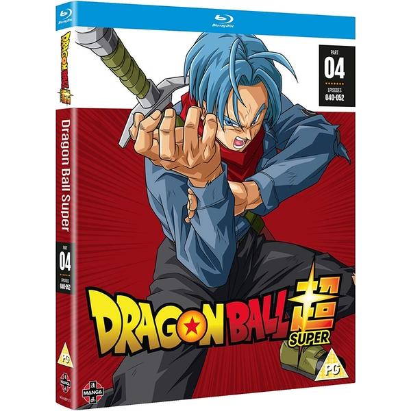 Dragon Ball Super Part 4 Blu-ray (Episodes 40-52) Blu-ray - 365games.co.uk