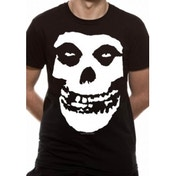Misfits Skull T-Shirt Small - Black