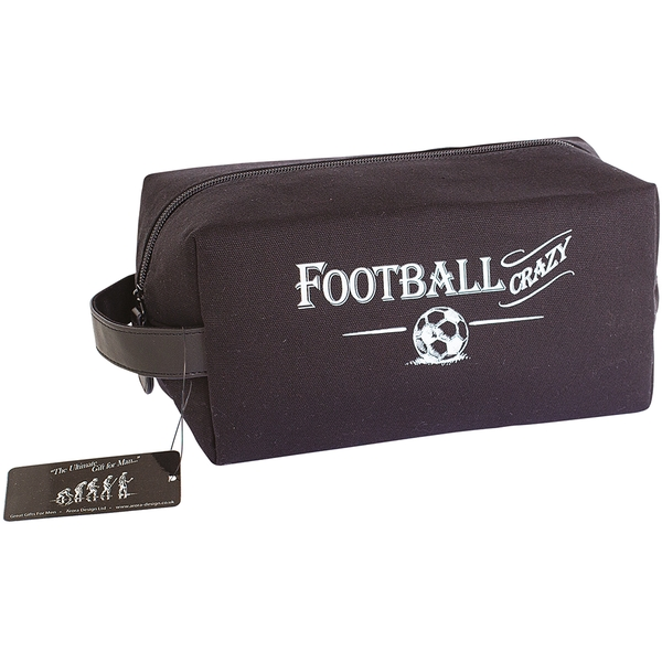 Ultimate Gift for Man Wash Bag Football