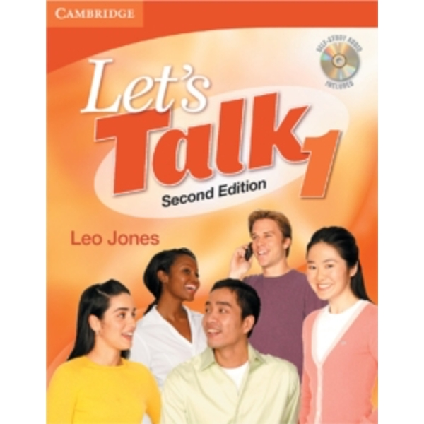 Let's Talk Student's Book 1 with Self-Study Audio CD by Leo Jones (Mixed media product, 2007)