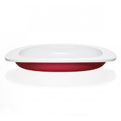 Koo-di Toddler First Plate Red
