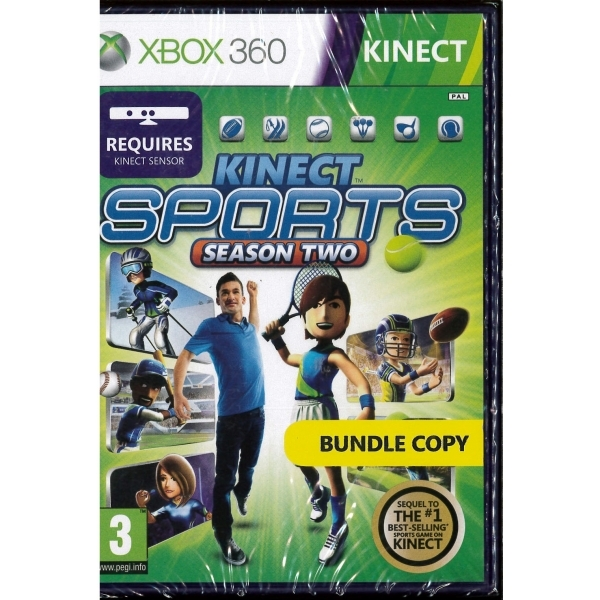 Kinect Sports Season 2 (Bundle Copy) Xbox 360 Game