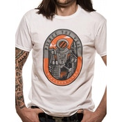 Pierce The Veil - Robot Men's Large T-Shirt - White