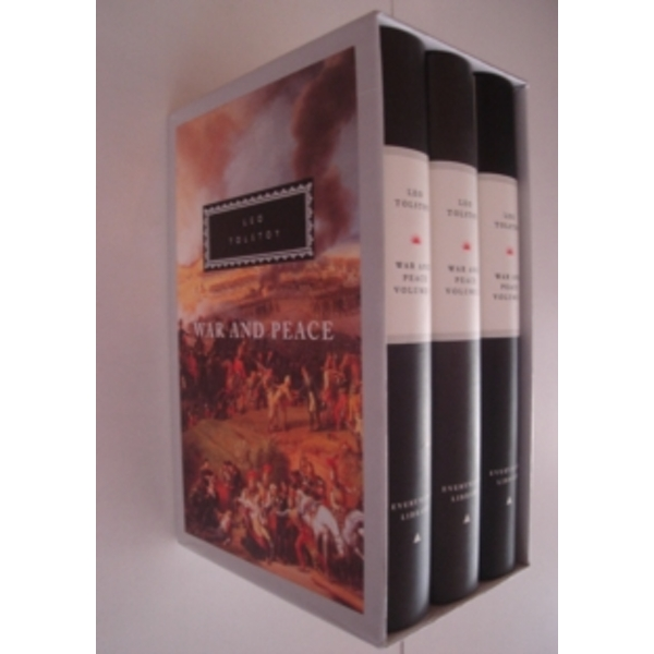 War And Peace: 3 vols by Leo Tolstoy (Hardback, 1992)