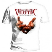 BFMV Temper Temper Blood Hands T Shirt: X Large