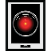 2001 A Space Odyssey Hal 9000 Framed Collector Print