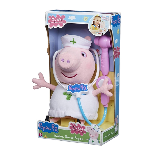 Peppa Pig Talking Nurse Toy