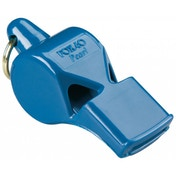 Fox 40 Pearl Safety Whistle C/W Wrist-Lanyard Blue