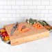 Bamboo Chopping Board with Trays | M&W - Image 2