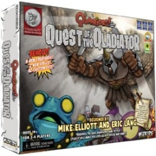 Quarriors Quest of The Qladiator Expansion Board Game