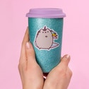 Thumbs Up! Pusheen - Ceramic Travel Mug - Unicorn