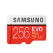 Samsung EVO Plus 256GB Micro SDXC Class 10 Flash Card with Adapter - Image 2