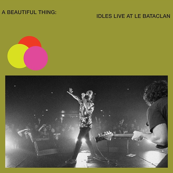 Idles - A Beautiful Thing: Idles Live At Le Bataclan Neon Clear  Vinyl