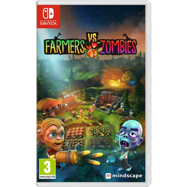 Farmers vs Zombies Nintendo Switch Game