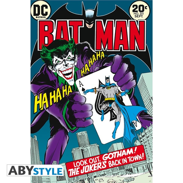 Dc Comics - Joker'S Back In Town Maxi Poster