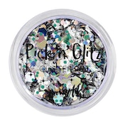 Barry M Cosmetics Pick 'N' Glitz, Boo Glitter Pot - Black