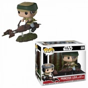Princess Leia With Speeder Bike Funko Pop! Vinyl Figure