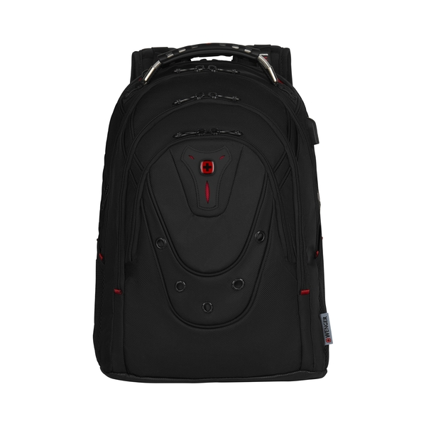 Wenger/SwissGear Ibex Deluxe 17inch Notebook 43.2 cm Backpack Black