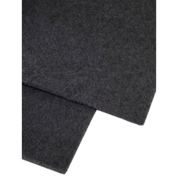Hama 00111870Filter Accessory for Stove Bell?Accessory for Fireplace (Filter, Black, Polyester, 470mm, 570mm, 2pc (S))