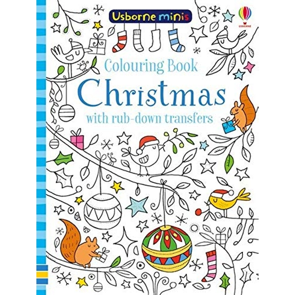Colouring Book Christmas with Rub-Down Transfers  Paperback / softback 2018