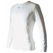 PT Base-Layer Long Sleeve Crew-Neck Shirt Medium White