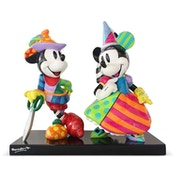 Mickey and Minnie Mouse NLE 3000 Disney Britto Figurine