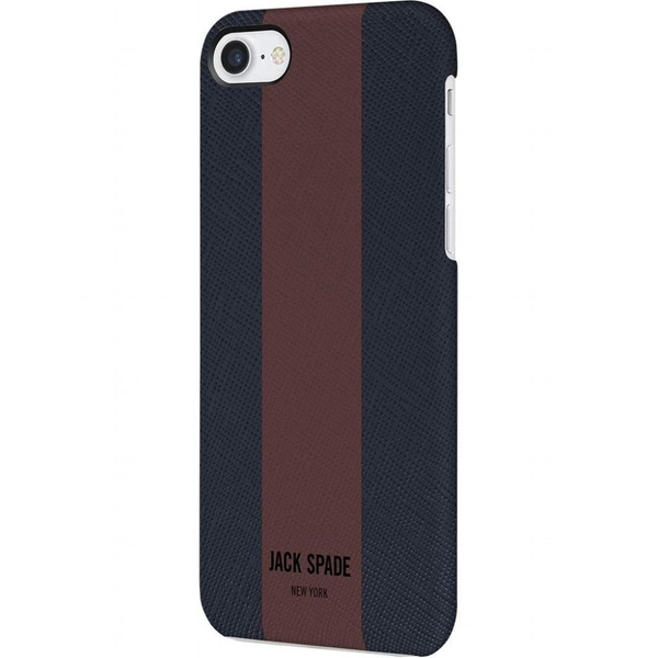 Jack Spade Snap Case for iPhone 7/8 Racing Stripe - Navy