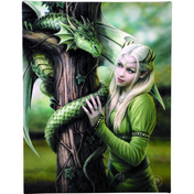 Small Kindred Spirits Canvas Picture by Anne Stokes