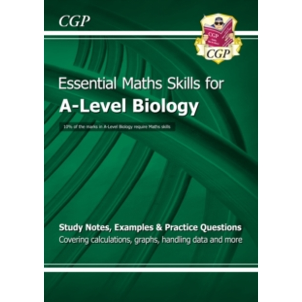 New A-Level Biology: Essential Maths Skills by CGP Books (Paperback, 2015)