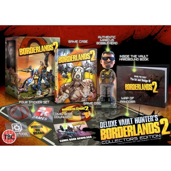 Borderlands 2 Deluxe Vault Hunters Collector's Edition Game Xbox 360 - Image 2
