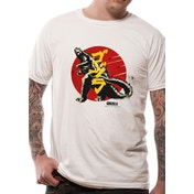 Godzilla - Vintage Men's Small T-Shirt - White