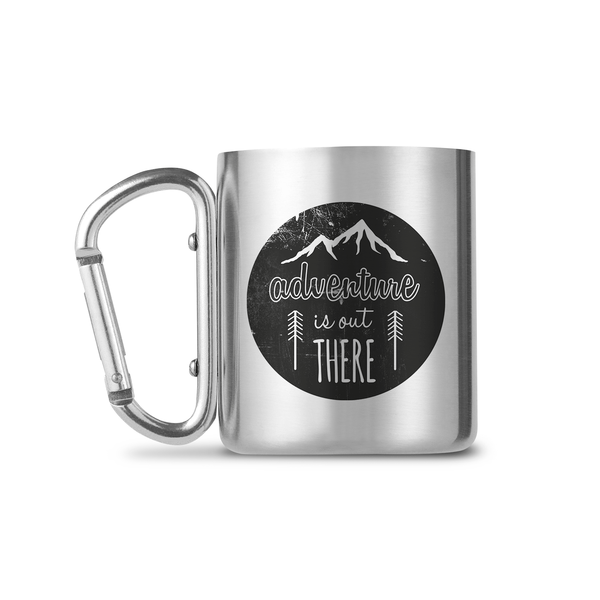 Adventure - Is Out There Carabiners Mug