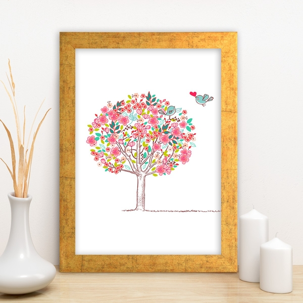 AC93126367 Multicolor Decorative Framed MDF Painting