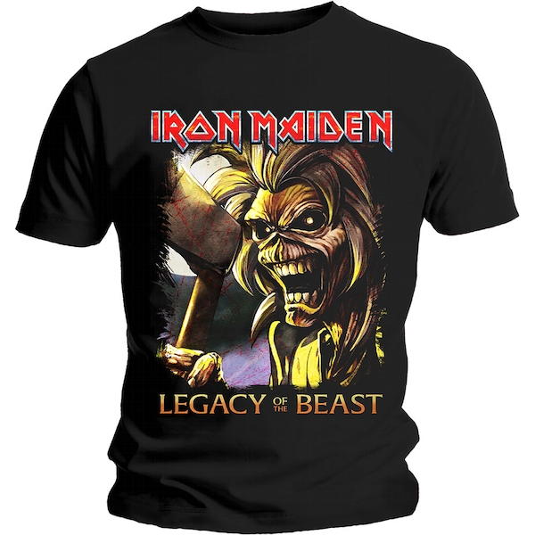 Iron Maiden - Legacy Killers Unisex Medium T-Shirt - Black